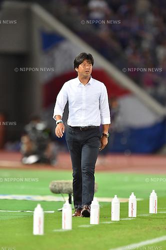 Hiroshi Nanami (Jubilo),<br /> JULY 23, 2016 - Football / Soccer :<br /> Jubilo Iwata head coach Hiroshi Nanami during the 2016 J1 League 2nd stage match between Yokohama F Marinos 1-1 Jubilo Iwata at Nissan Stadium in Kanagawa, Japan. (Photo by AFLO)
