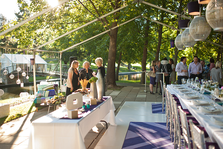 Gourmet Conclave on Rymill Island in the Adelaide Parklands South Australia.