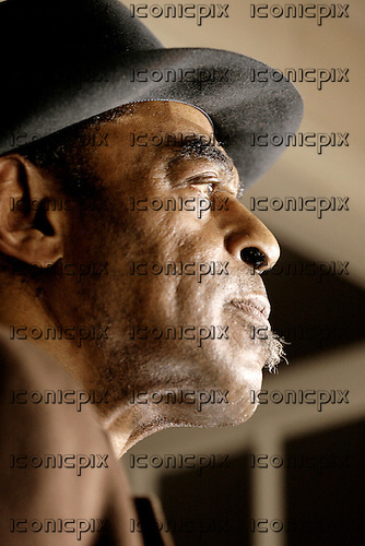Archie Shepp - jazz saxophonist - portrait at home in Paris<br />  France - 02 Apr 2008.  Photo credit: OLivier Roller/Dalle/IconicPix