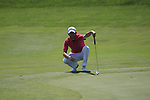 Gregory Bourdy (FRA) in action on the 2nd green during Day 2 of the Open de Espana at Real Club De Golf El Prat, Terrasa, Barcelona, 6th May 2011. (Photo Eoin Clarke/Golffile 2011)