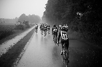 heavy rain beats upon the peloton<br /> <br /> stage 5: Eindhoven - Boxtel (183km)<br /> 29th Ster ZLM Tour 2015