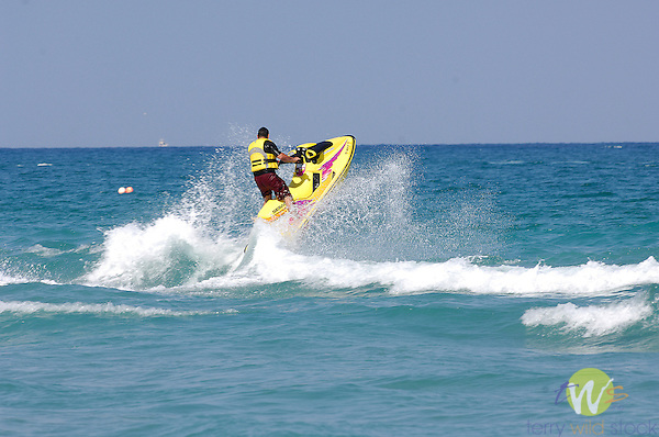 Jet ski and surf, Florida