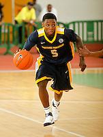 April 10, 2011 - Hampton, VA. USA;  Jevon Thomas. participates in the 2011 Elite Youth Basketball League at the Boo Williams Sports Complex. Photo/Andrew Shurtleff