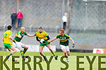 Kieran Donaghy Kerry in action against Christy Toye Donegal in Division One of the National Football League at Austin Stack Park Tralee on Sunday.