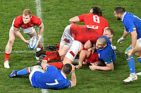 Aled Davies Wales <br /> Roma 9-02-2019 Stadio Olimpico<br /> Rugby Six Nations tournament 2019  <br /> Italy - Wales <br /> Foto Andrea Staccioli / Resini / Insidefoto