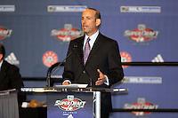Don Garber - MLS Commissioner at the MLS Super Draft 2009.