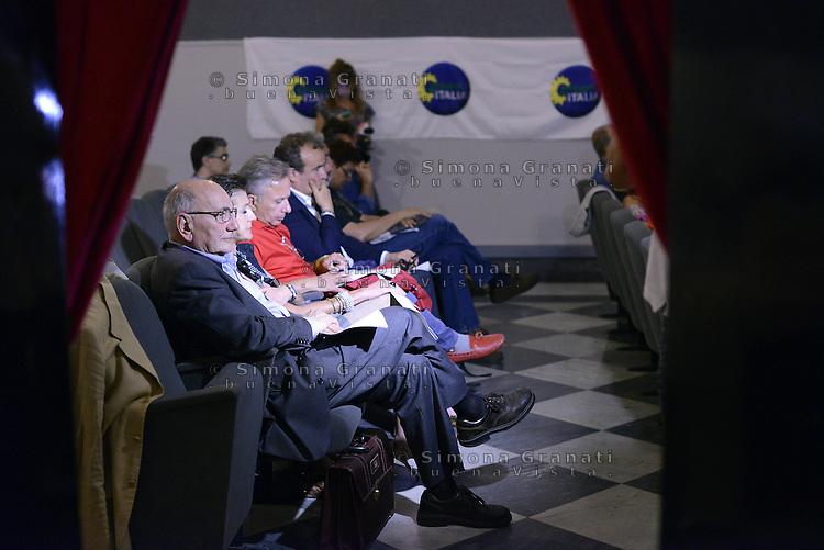 Roma, 20 Giugno 2015<br /> Teatro 2.<br /> Marco Boato.<br /> Assemblea nazionale di Green Italia.<br /> La politica con un altro colore