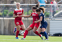 Boyds,MD. - Saturday, April 15 2017:  The North Carolina Courage defeated the Washington Spirit 1-0 in a NWSL match at the Maryland Soccerplex.