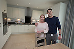 Redrow Homes Afon Gardens<br /> Clare &amp; Joe Tilley<br /> 03.05.14<br /> &copy;Steve Pope-FOTOWALES