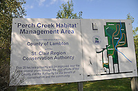 Perch Creek Habitat Management Areas located on Churchill Line, east of Blackwell Sideroad.