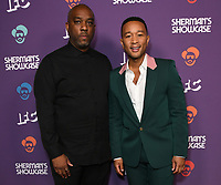 "30 July 2019 - West Hollywood, California - Mike Jackson, John Legend. IFC's ""Sherman's Showcase"" Premiere Party held at The Peppermint Club. Photo Credit: Birdie Thompson/AdMedia"
