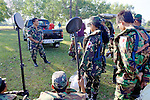 Akira Having Meeting With Cambodian Deminers