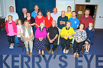 Pictured with Fr Sean Myers after his mass in the Fossa GAA hall on Monday night were Noreen Hayes, Sr Philippa Myers, Teresa Cunningham, Kitty Myers, Eddie, Erin and Sadie Myers, Fr Brendna Harrington, Brid Hayes, Dermot Myers, Mary Hayes, Mary Myers, Sean Myers, John Cunningham, Eamon, Chris, Don and Natasha Myers.....................Christy O'Mahony, captain Beaufort Golf club and Irene McCarthy, Lady Captain Beaufort Golf Club pictured with James Lucey and Sheila McCarthy, who were the winners in their Captain Prize Competition at the course on Sunday. Also pictured are Frank Coffey, President, Sean Coffey, vice captain, Teresa Clifford, Margaret Guerin, Josephine O'Shea, Gretta Hurley, Renee Clifford, Peggy O'Riordan, Maureen Rooney, Mary Barrett, Robin Suter, Gearoid Keating, Jim Hurley, Gabhan O'Loughlin, Rory Browne, Mike Quirke, Matt Templeman and Simon Rainsford...Picture: Ger Cronin LMPA (087) 0522010....PR SHOT..NO REPRODUCTION FEE.............................................................................................................................................................................................................................................