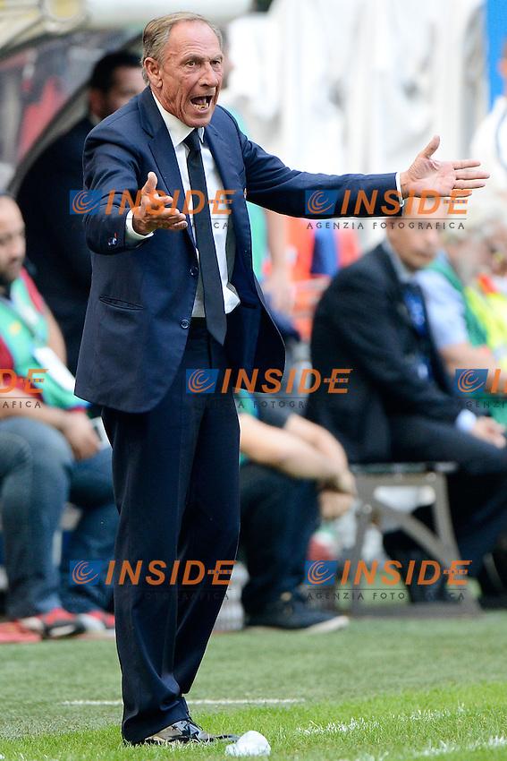 Zdenek Zeman Cagliari<br /> Milano 28-09-2014 Stadio Giuseppe Meazza - Football Calcio Serie A Inter - Cagliari. Foto Giuseppe Celeste / Insidefoto