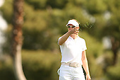 Apr. 1, 2006; Rancho Mirage, CA, USA; Annika Sorenstam checks the wind on the 2nd hole at the Kraft Nabisco Championships at Mission Hills Country Club. ..Mandatory Photo Credit: Darrell Miho.Copyright © 2006 Darrell Miho .