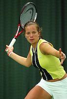 10-3-06, Netherlands, tennis, Rotterdam, National indoor junior tennis championchips, Nicolette van Uitert