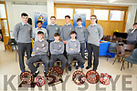 Leaving Cert Students of CBS the Green who were presented with their sports awards at the CBS The Green 6th Year Students Awards on Wednesday. Front l-r: Niall O'Mahony,Sean O'Donoghue and Tomás O'Connor (Hurling). Back l-r: Kieran Dwyer (Football), Jebin John (badminton), Cillian Riordan, Joseph O'Connor (Rugby), Tómás Leen(Athletics) and Amadeus Letental (basketball).