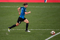 Kansas City, MO - Wednesday August 16, 2017: Becca Moros during a regular season National Women's Soccer League (NWSL) match between FC Kansas City and the Orlando Pride at Children's Mercy Victory Field.