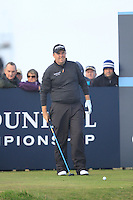 Shane Lowry (IRL) during the Final Day of the Alfred Dunhill Links Championship at St. Andrews Golf Club on Sunday 29th September 2013.<br /> Picture:  Thos Caffrey / www.golffile.ie