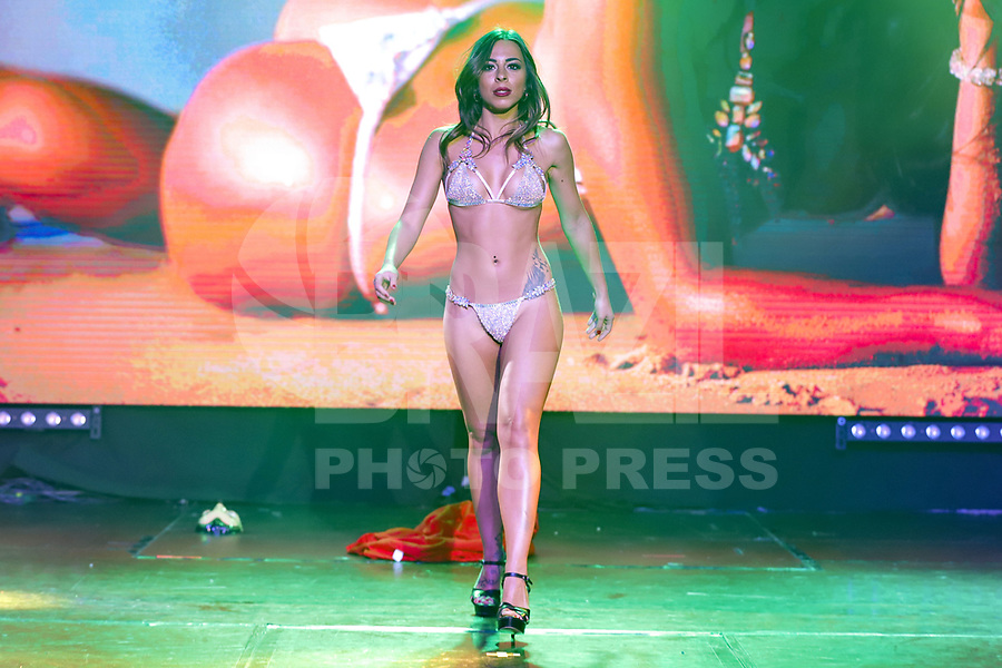 CIDADE DO MÉXICO, MÉXICO, 30.09.2019 - MISS-BUMBUM - Marjara Patito  durante a final do concurso Miss Bumbum World na  ForoTotal Play na Cidade do México na capital mexicana nesta segunda-feira, 30.  (Foto: William Volcov/Brazil Photo Press)
