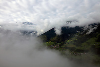 Above Val d'Entremont, near Sembrancher, Switzerland.