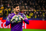 05.11.2019, Signal Iduna Park, Dortmund , GER, Champions League, Gruppenphase, Borussia Dortmund vs Inter Mailand, UEFA REGULATIONS PROHIBIT ANY USE OF PHOTOGRAPHS AS IMAGE SEQUENCES AND/OR QUASI-VIDEO<br /> <br /> im Bild | picture shows:<br /> Einzelaktion Roman Buerki (Borussia Dortmund #1), <br /> <br /> Foto © nordphoto / Rauch
