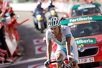 Assan Bazayev during the stage of La Vuelta 2012 between Barakaldo and Valdezcaray.August 21,2012. (ALTERPHOTOS/Acero) /NortePhoto.com