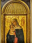 Madonna icon, Academy Gallery, Venice, Italy
