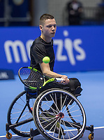 Rotterdam, Netherlands, December 13, 2016, Topsportcentrum, Lotto NK Tennis,  Ruben Spaargaren (NED) <br /> Photo: Tennisimages/Henk Koster