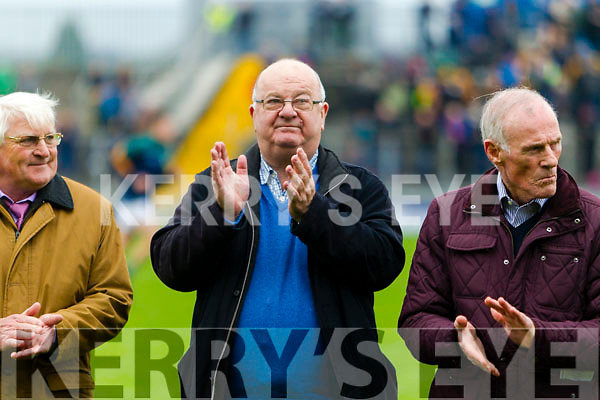 Mike McCarthy The 1992 Mid Kerry team honoured at half time of the Senior County Football Final in Austin Stack Park on Sunday