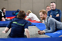 14 May 2019 - Oxford, UK - Prince Harry Duke of Sussex visits Oxford Children's Hospital. Photo Credit: ALPR/AdMedia