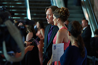 "ST. PAUL, MN JULY 16: Kevin & Sam Sorbo talk to reporters on the red carpet at the Starkey Hearing Foundation ""So The World May Hear Awards Gala"" on July 16, 2017 in St. Paul, Minnesota. Credit: Tony Nelson/Mediapunch"