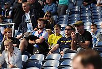 Blackburn Rovers fans enjoy the pre-match atmosphere <br /> <br /> Photographer Kevin Barnes/CameraSport<br /> <br /> The EFL Sky Bet Championship - Blackburn Rovers v Millwall - Saturday September 14th 2019 - Ewood Park - Blackburn<br /> <br /> World Copyright © 2019 CameraSport. All rights reserved. 43 Linden Ave. Countesthorpe. Leicester. England. LE8 5PG - Tel: +44 (0) 116 277 4147 - admin@camerasport.com - www.camerasport.com