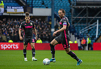 Leeds United's Luke Ayling (right) breaks<br /> <br /> Photographer Andrew Kearns/CameraSport<br /> <br /> The EFL Sky Bet Championship - Sheffield Wednesday v Leeds United - Saturday 26th October 2019 - Hillsborough - Sheffield<br /> <br /> World Copyright © 2019 CameraSport. All rights reserved. 43 Linden Ave. Countesthorpe. Leicester. England. LE8 5PG - Tel: +44 (0) 116 277 4147 - admin@camerasport.com - www.camerasport.com