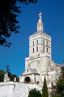 Notre Dame cathedral in Avignon, France