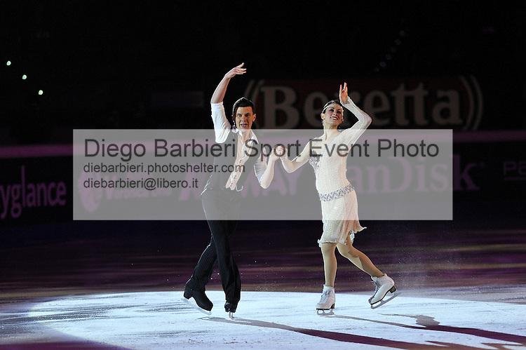 14 dicembre 2013 - Golden Skate Awards e Capodanno on Ice, si rinnova l'ormai tradizionale spettacolo su ghiaccio al Palavela di Torino. Charlene Guignard, Marco Fabbri