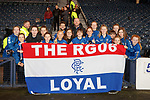 25.04.2019 Celtic v Rangers youth cup final: Rangers fans