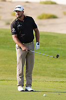 Graeme McDowell (NIR) on the 17th during Round 4 of the Saudi International at the Royal Greens Golf and Country Club, King Abdullah Economic City, Saudi Arabia. 02/02/2020<br /> Picture: Golffile | Thos Caffrey<br /> <br /> <br /> All photo usage must carry mandatory copyright credit (© Golffile | Thos Caffrey)