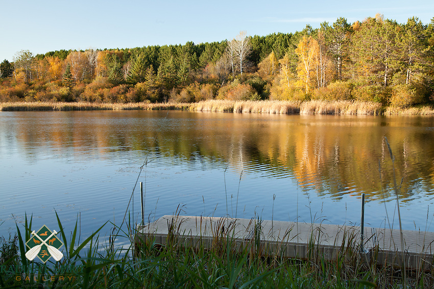 &quot;Autumn at Hartley Pond&quot;<br />