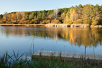 """Autumn at Hartley Pond""<br />