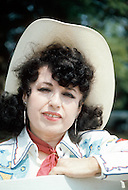 Nashville, Tennessee - June 10, 1977. This portrait was taken of Yvette Horner when she visited Nashville, Tennessee to play at the Ole Opry. Yvette Horner (born September 22nd, 1922) is a renown French accordionist, whose career has spanned over 70 years, has given thousands of concerts around the world and sold over 30 million records.
