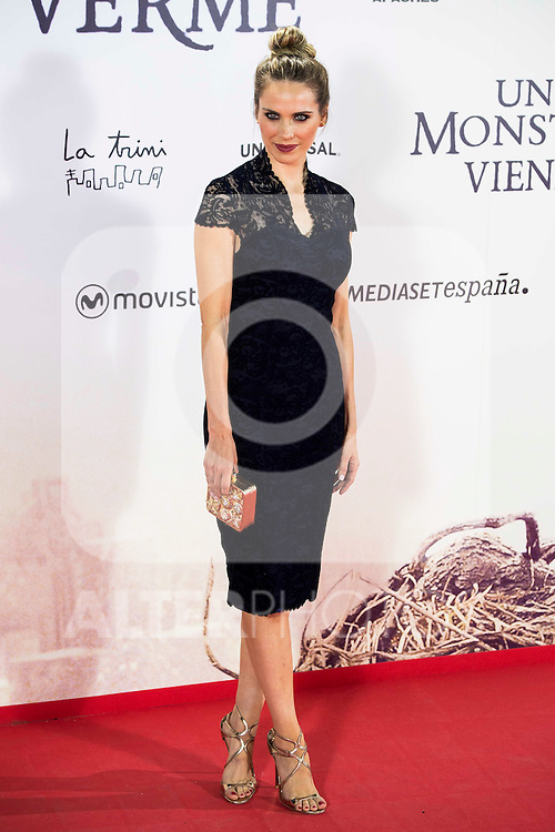 "Vanesa Romero during the premiere of the spanish film ""Un Monstruo Viene a Verme"" of J.A. Bayona at Teatro Real in Madrid. September 26, 2016. (ALTERPHOTOS/Borja B.Hojas)"