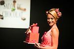 Emilie Dupuis - Défilé d'inauguration de la 2eme Edition du Salon du Chocolat à Bruxelles. Lors du défilé chocolat on a pu apercevoir Annelies Törös (Miss Belgique 2015) ainsi que différentes personnalités de l'audio-visuel belge.  Belgique, Bruxelles, le 05 février 2015.