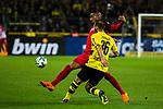 11.03.2018, Signal Iduna Park, Dortmund, GER, 1.FBL, Borussia Dortmund vs Eintracht Frankfurt, <br /> <br /> im Bild | picture shows:<br /> Kevin Prince-Boateng (Frankfurt #17) erobert den Ball von Oemer Toprak (Borussia Dortmund #36), <br /> <br /> <br /> Foto &copy; nordphoto / Rauch