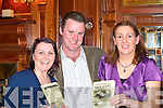 RACE NIGHT: Looking for winners at the Muckross Rowing Club Race Night in the Killarney Oaks Hotel on Friday night were l-r: Susan Murhill, Sea?n Daly and Mary Fleming, all Killarney.   Copyright Kerry's Eye 2008
