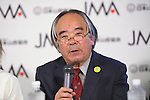 Kuniaki Yagihara, <br /> AUGUST 3, 2016 - Sports Climbing :<br /> Japan Mountaineering Association holds a press conference<br /> after it was decided that the sport of <br /> Sports Climbing would be added to the Tokyo 2020 Summer Olympic Games<br /> on August 3rd, 2016 in Tokyo, Japan.<br /> (Photo by AFLO SPORT)