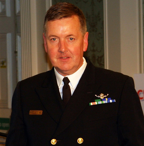 Vice-Admiral Mark Mellett, head of the Defence Forces