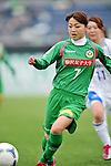 Natsuko Hara (Beleza), .APRIL 22, 2012 - Football/Soccer : 2012 Plenus Nadeshiko League,2nd sec match between NTV Beleza 3-0 AS Elfen Sayama FC at Komazawa Olympic Park Stadium, Tokyo, Japan. (Photo by Jun Tsukida/AFLO SPORT) [0003]