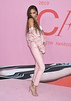 03 June 2019 - New York, New York - Joan Smalls. 2019 CFDA Awards held at the Brooklyn Museum. <br /> CAP/ADM/LJ<br /> ©LJ/ADM/Capital Pictures