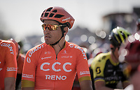Greg VAN AVERMAET (BEL/CCC) at the race start<br /> <br /> 62nd E3 BinckBank Classic (Harelbeke) 2019 <br /> One day race (1.UWT) from Harelbeke to Harelbeke (204km)<br /> <br /> ©kramon